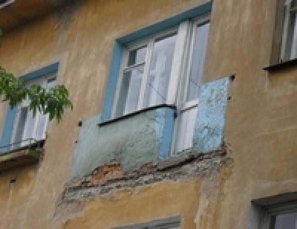 Де-факто - на луганщине обрушился балкон вместе с тремя людь.