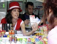продавцы сигарет