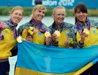 олимпийская четверка гребля