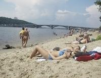 Секс на пляже труханов остров