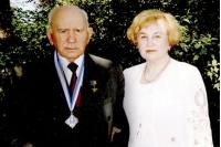 Петр Тронько с женой