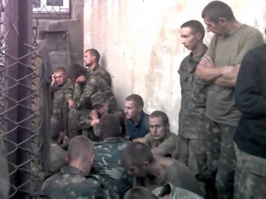 Издевательства украинских солдат секс перед расстрелом