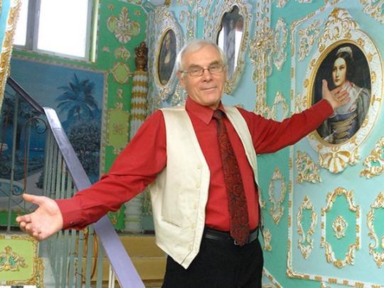киевский пенсионер Владимир Чайка