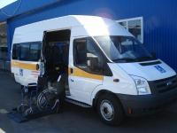 микроавтобус для обслуживания инвалидов