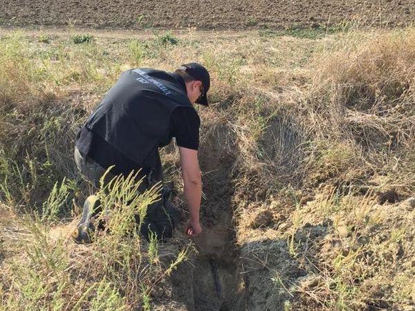 В Одесской области выявили трубопровод для незаконной перекачки спирта
