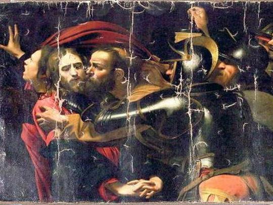 Картинки по запросу Караваджо Одесса Поцелуй Иуды