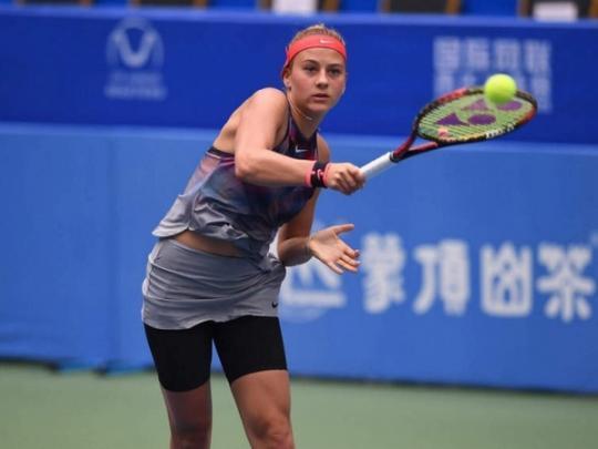 Костюк обыграла хозяйку состязаний в КНР ивышла вчетвертьфинал— Теннис
