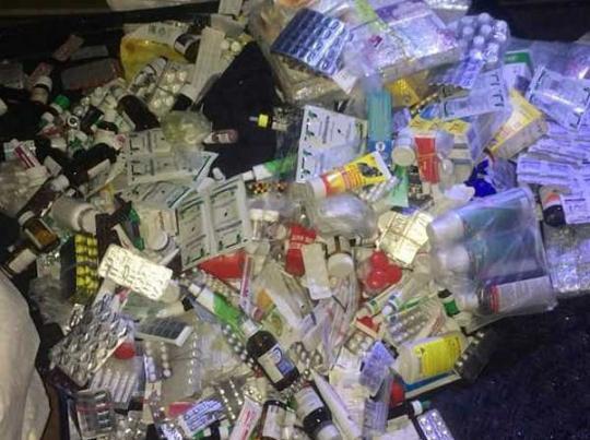 В «ДНР» пытались ввезти 5 мешков медикаментов