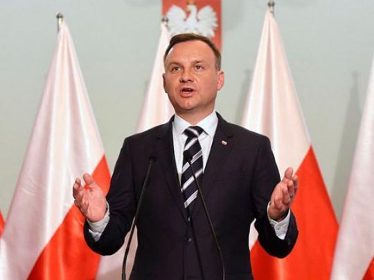 Президент Польши агрессивно ответил накритику скандального «закона обандеровцах»