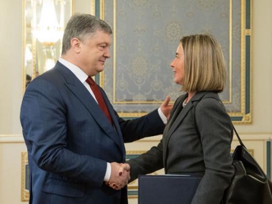 Могерини: СанкцииЕС против РФ  привязаны кполной имплементации Минских договоров