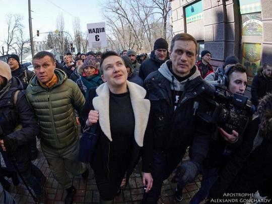 ВЛНР выступили с нежданным предложением кнародной избраннице Украины— Арест Савченко