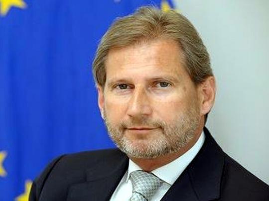 Еврокомиссар: Украина нарушила обещания иотходит отевропейских стремлений