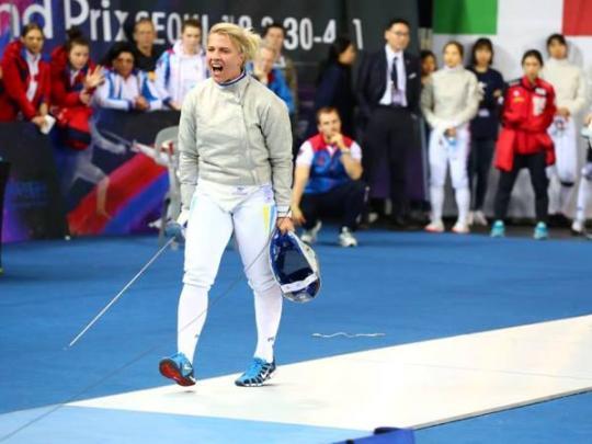 Ольга Харлан выиграла второй турнир серии Гран-при вСеуле