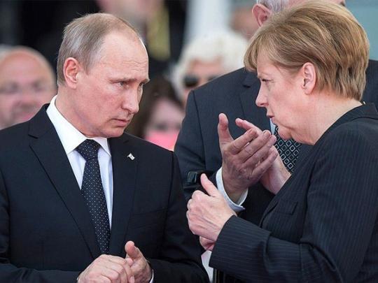 После разговора В.Путина  сМеркель можно забыть омиротворцах— специалист