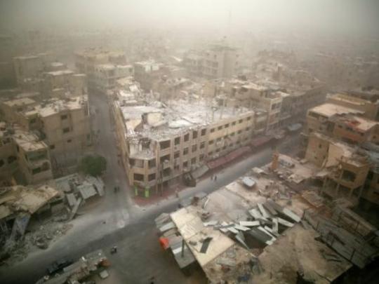 Котёл вВосточной Гуте зачищен: бойцы САА взяли под полный контроль Думу