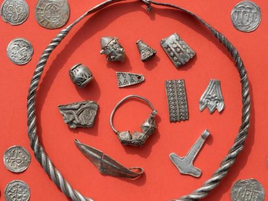 Наострове вБалтийском море отыскали  клад Xвека
