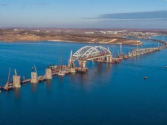 Участок Косы Тузла передали вфедеральную собственность для строительства Крымского моста