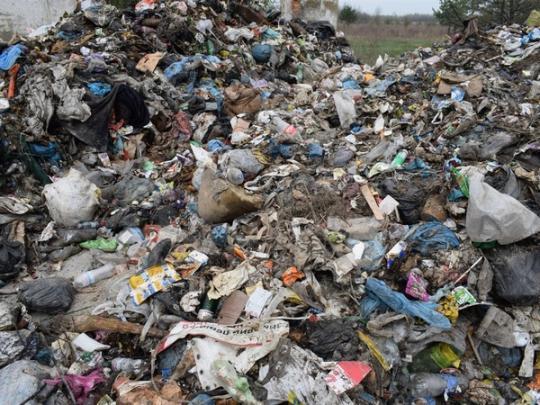 Сотни тонн львовского мусора нелегально скинули наЖитомирщине,