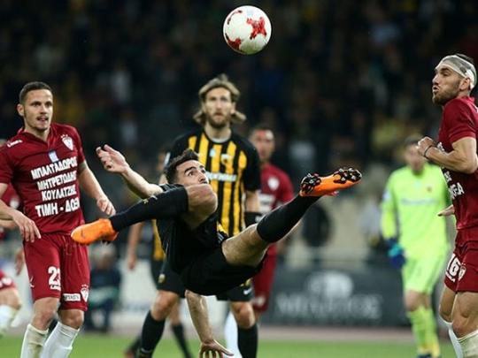 Шедевр одноклубника Чигринского вывел АЕК вфинал Кубка Греции пофутболу