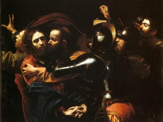 Картина Кавараджо «Поцелуй Иуды» вскоре вернется вОдессу