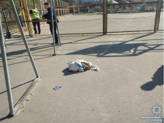 Наспортплощадке вКиеве произошел взрыв
