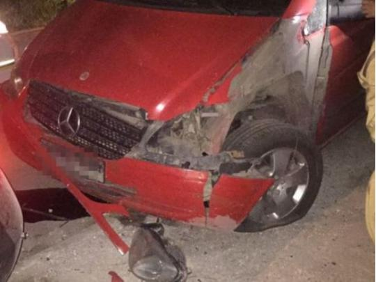 ВОдесской области взорвали Mercedes