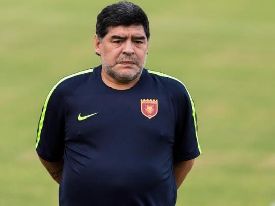 Безработный Марадона принял решение вернуться надолжность основного тренера клуба изОАЭ