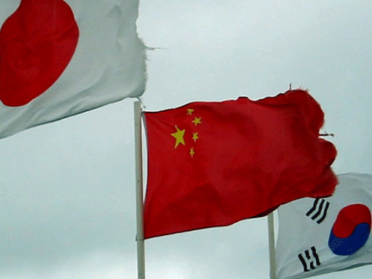 Лидеры Японии, Китая иЮжной Кореи хотят увидеться вТокио 9мая