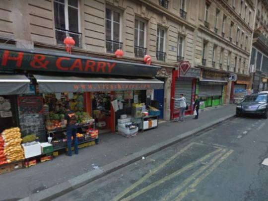Неизвестные скальпировали гостя ресторана встолице франции
