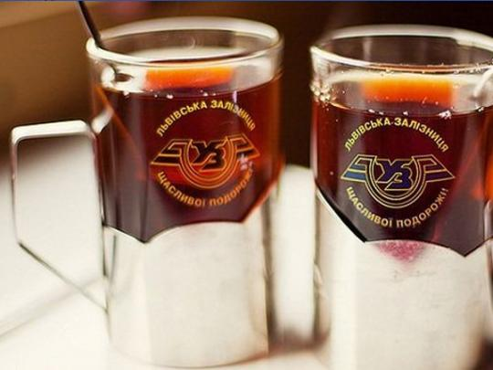«Укрзалізниця» меняет стоимость чая икофе впоездах