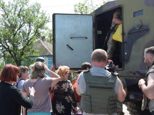 КПП «Гнутово» продолжает работать вштатном режиме после обстрелов боевиками накануне