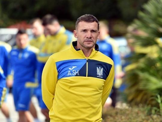 Шевченко вызвал восемь легионеров всборную государства Украины