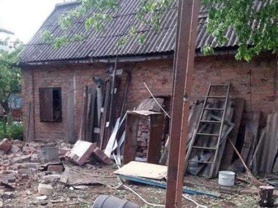 Стали известны последствия обстрела поселка вБахмуте боевиками