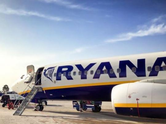 Ryanair хочет запустить рейсы из 5-ти городов Украинского государства