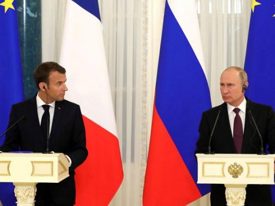 Путин отчитал французского репортера занетот вопрос