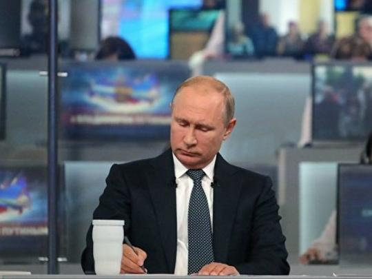 Обмен Вышинского наСенцова пока невпланах Владимира Путина