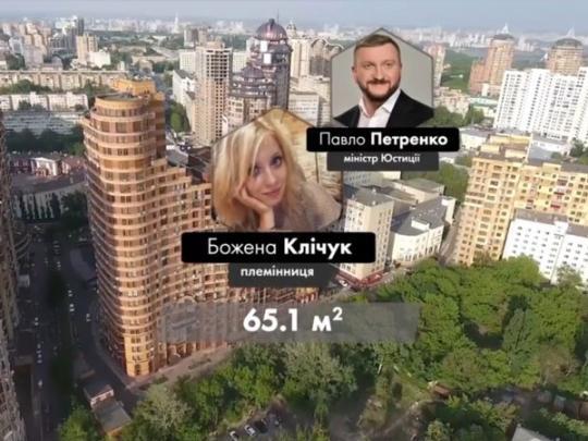 Уплемянницы министра Петренко вдруг появились элитные квартиры иавто