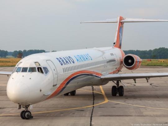 Аэропорт «Киев» закрыли из-за инцидента ссамолетом