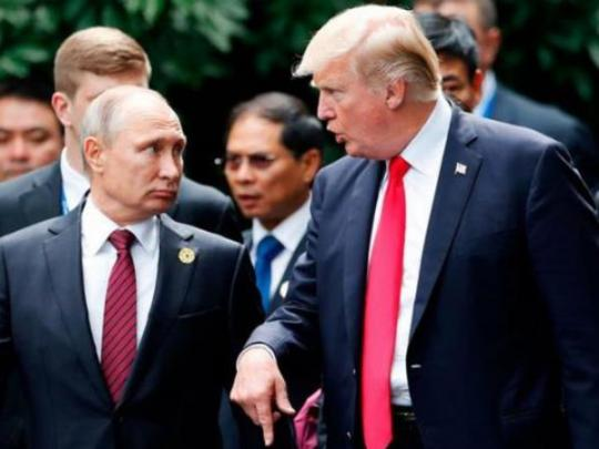 """""""Крым принадлежит Украине"""": Трампу подготовили памятку к встрече с Путиным"""
