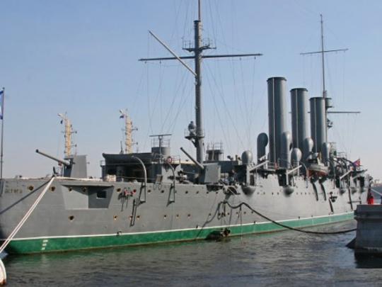 """Православная """"колыбель революции"""": на крейсере """"Аврора"""" открыли корабельный храм"""