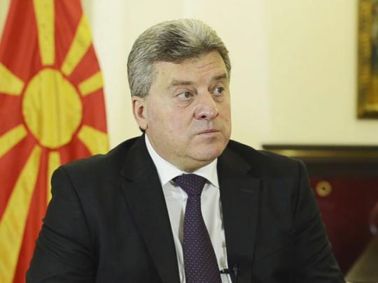 Президент Македонии во второй раз наложил вето на переименование страны