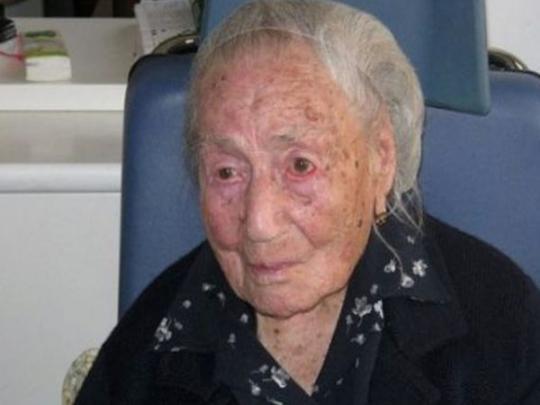 В Италии скончалась самая пожилая жительница Европы