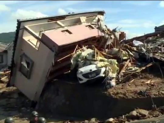 Наводнение в Японии: погибли более 100 человек