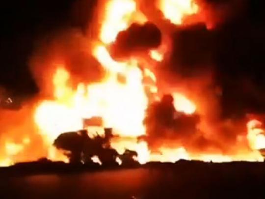 Огненное ДТП в Иране: погибли 20 человек