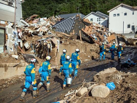 Стихийное бедствие в Японии унесло жизни 156 человек