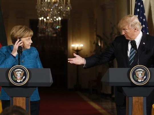 США готовы ввести санкции против ЕС из-за Северного потока-2