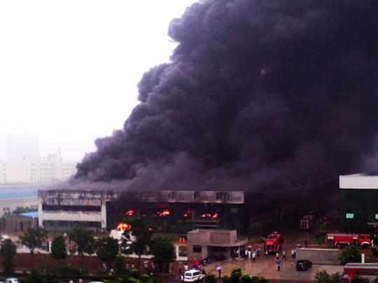 В Китае при взрыве в промышленном парке погибли 19 человек
