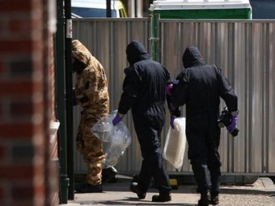 Инцидент в Эймсбери: установлен источник отравления «Новичком»