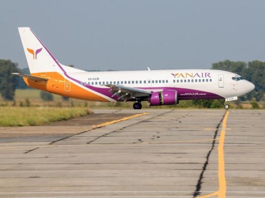 Авиакомпания YanAir отменила рейсы изЛьвова вБарселону