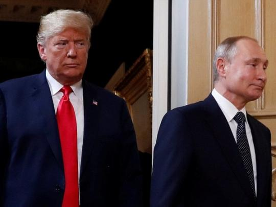 """Путин: """"С чего вы взяли, что Дональд мне доверяет, а я — ему?"""""""
